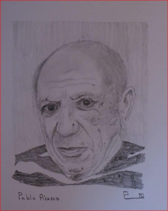 Pablo Picasso par Picapenko